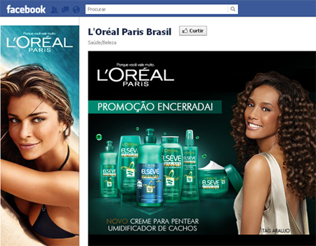 Facebook L'Oréal